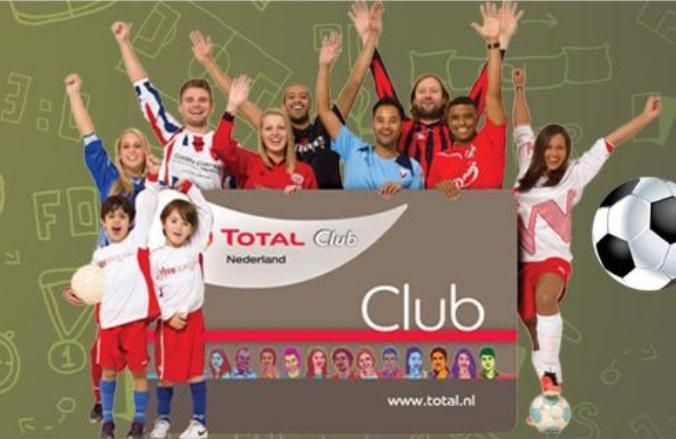 Total voetbalactie clubsparen voor je voetbalclub