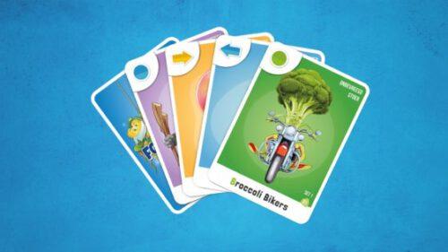 AH foodstars kaartspel met Albert Heijn Foodstars kaartspelletjes