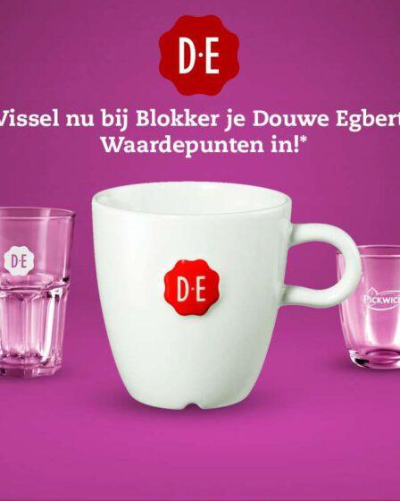 DE Blokker punten inwisselen Douwe Egberts waardepunten bij Blokker