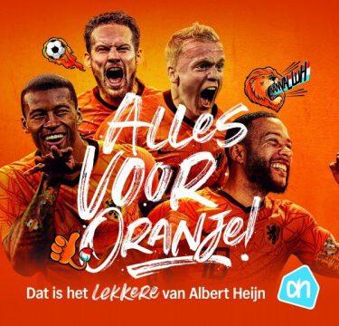AH Hollandicons tattoos en stickers AH EK actie 2021 bij Albert Heijn