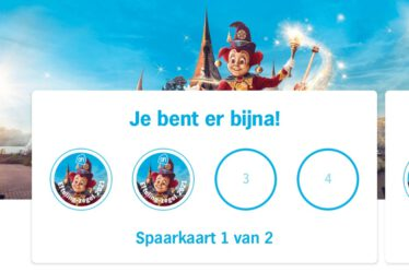 AH efteling actie 2021 spaaractie Albert Heijn spaar je zegels in de AH app