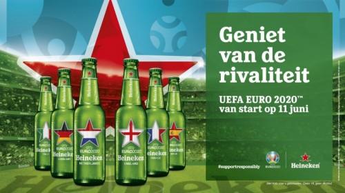 Heineken winactie EK 2021 kaartjes voor het EK !
