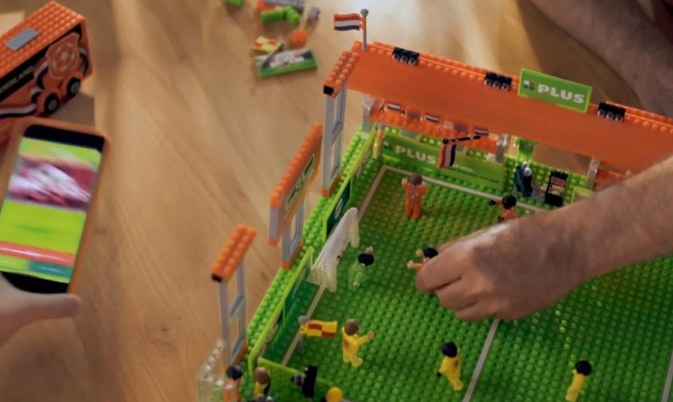 PLUS Bricks EK voetbal 2021 actie app